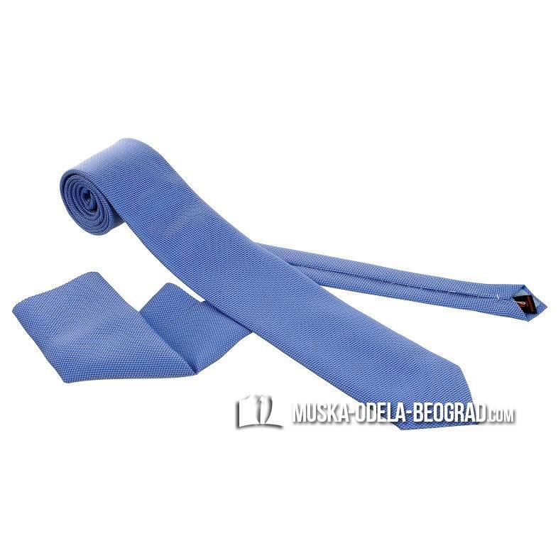 Plava kravata  sa  maramicom #295 - kravate beograd, prodaja kravata, kravate cene, online kravate, muske kravate za vencanje, plava kravata, plave kravate, kravate za odelo, kravate novi sad, kravate cacak, kravate cena, kravate prodaja