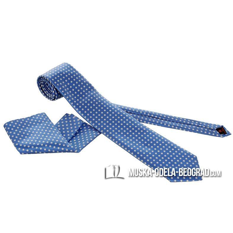plava muska kravata #318 - kravate beograd, kravate novi sad, prodaja muskih kravata, kravate cene, muske kravate prodaja, e za odelo, svilene kravate, kravate sa maramicom, plava muska kravata, muska odela, kravate za odelo