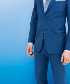 Muska odela - plava #445Muska odela - plava - modeli - 2015 - musko odelo za vancanje, svadbe, svadbu, maturu