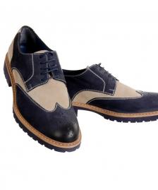 Muske cipele od prevrnute koze #558Muske sarene cipele, cipela, od, prevrnute, izvrnute, koze, mojo, rucno radjene, handmade, unikatne, cipele, obuca, unikatna