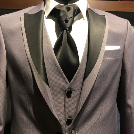 Sivi smoking sa prslukim #573 - muska odela, smoking odela, sivo smoking odelo, sa prslukom, beograd