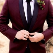 Bordo smoking- smoking, odelo, odela, muska, za svadbu, svadbe, vencanje, vencanja, mature, cena, cene