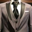 Sivi smoking sa prslukim- muska odela, smoking odela, sivo smoking odelo, sa prslukom, beograd