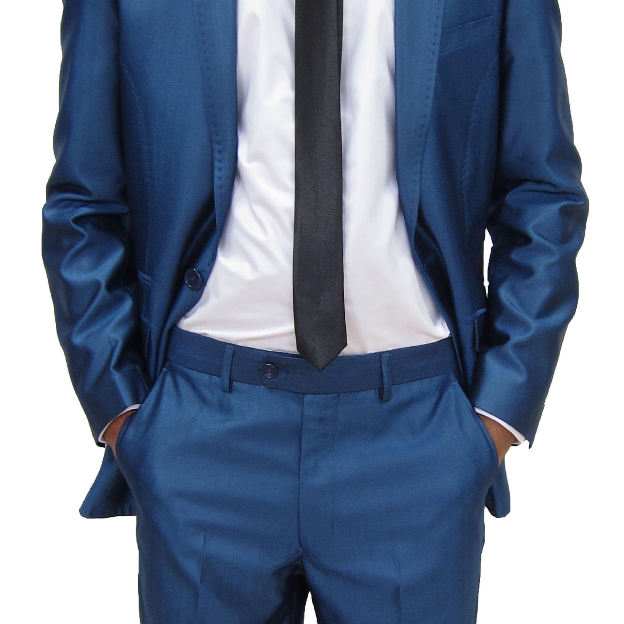 Plavo odelo #322 - frakovi - odela - smokinzi - smoking - muski-odelo-odela-odela-za-vencanje-plavo-novi-sad-beograd-cene-prodaja-svadba-svadbe-vuna-