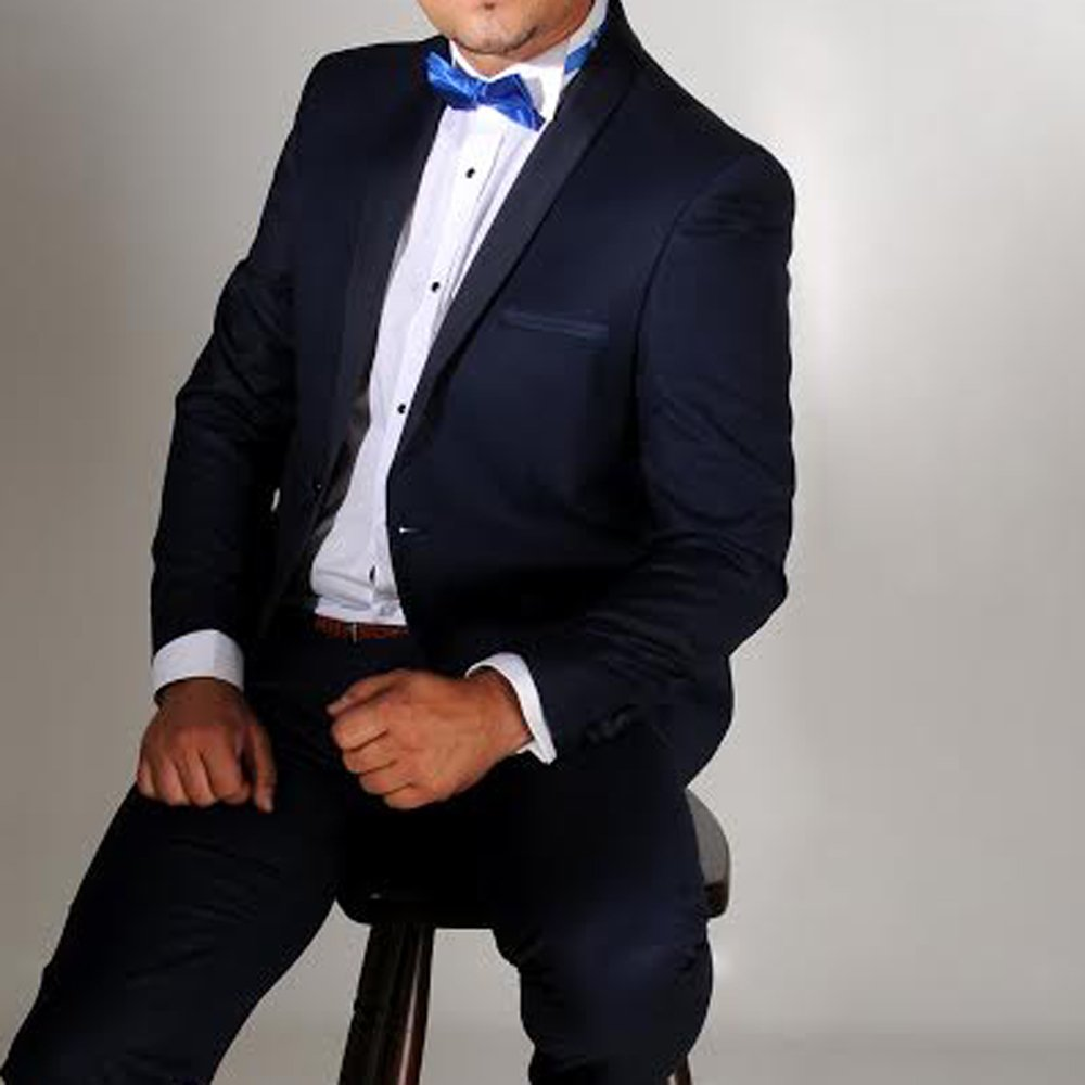 Teget smoking - odelo - za - vencanje - svadbe - svadbu #471 - Muski smoking, smoking odelo, teget smoking, plavi smoking, strukirani, slim fit, velicina, 46, 48, 50, 52, 54, beograd