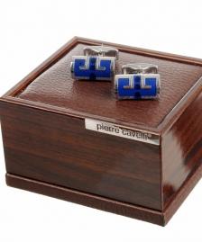 Dugmad za manzetne - Plava #465Dugme za kosulju, dugme za manzetnu, manzetne, teget, plave, plava, crne, bordo, crvene, prodaja, sa geometrijskim oblicima