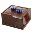 Dugmad za manzetne - Plava- Dugme za kosulju, dugme za manzetnu, manzetne, teget, plave, plava, crne, bordo, crvene, prodaja, sa geometrijskim oblicima