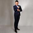 Teget smoking - odelo - za - vencanje - svadbe - svadbu- Muski smoking, smoking odelo, teget smoking, plavi smoking, strukirani, slim fit, velicina, 46, 48, 50, 52, 54, beograd