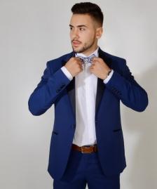 Plavi smoking  #549Plavi, smoking, smokinzi, odelo, odela, za, svadbu, svadbe, strukirana, strukirano, slim fit, slike, slika, cene, cena, prodaja, novi sad