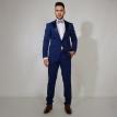 Plavi smoking - Plavi, smoking, smokinzi, odelo, odela, za, svadbu, svadbe, strukirana, strukirano, slim fit, slike, slika, cene, cena, prodaja, novi sad