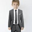 Sivo decije odelo- Odelce, odelca za decu, decija odela, cene, cena beograd, prodaja, online, povoljno, za krstenje, krstenja