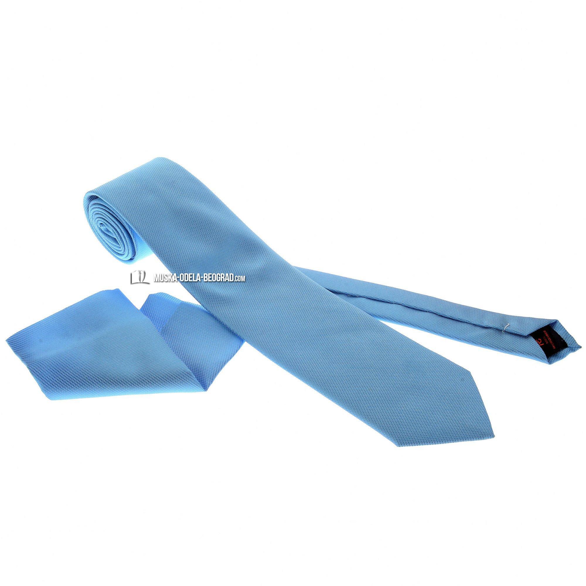 plava kravata sa maramicom #296 - Strukirana odela, strukirana muska odela, odela strukirana cene, kravate cena, kravate cene, kravate prodaja, kravate beograd, kravate novi sad, kravate cacak, kravate nis, prodaja muskih kravata, kravate za musko odelo, kravate za vencanje, kravata za svadbu, online prodaja kravata, muska odela, muske cipele