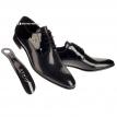 Muske cipele - lakovane crne- Muske cipele, Beograd, Srbija, za vencanje, za svadbu, za matursko vece, svecane, lakovana koza