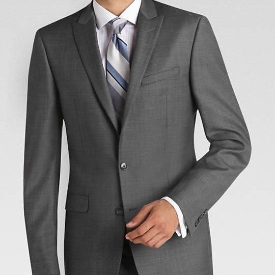 Sivo odelo za mature ili svadbe #600 - Muska odela za mature, siva strukirana odela, siva slim fit odela, slike, beograd, za mature, maturu, svadbu