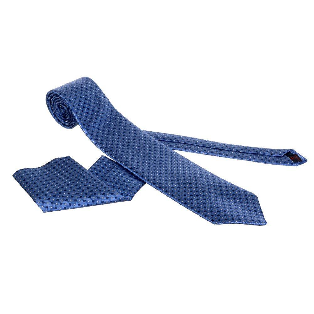 plava kravata sa maramicom #299 - kravate beograd, kravate novi sad, kravate zajecar, kravate zajecar, cene kravata, prodaja kravata, kravate za odela