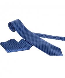 plava kravata sa maramicom #299kravate beograd, kravate novi sad, kravate zajecar, kravate zajecar, cene kravata, prodaja kravata, kravate za odela
