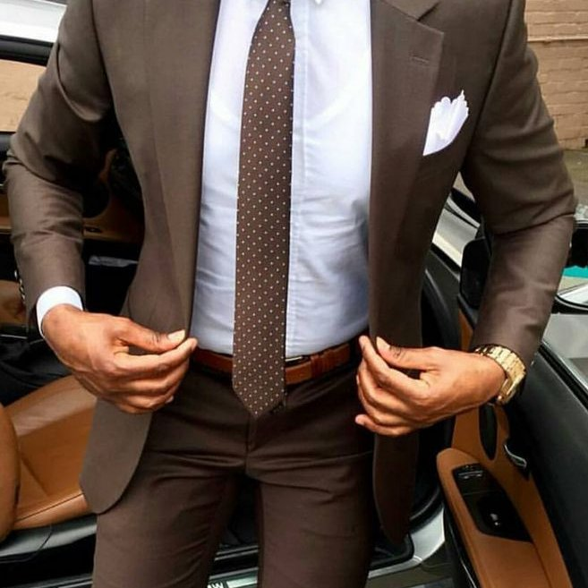Odela Muska Braon #566 - Odela muska, strukirana odela muska, braon slim fit odela, odelo, muko odelo za vencanje, beograd, u beogradu, butik, butici, vencanje, vencanja